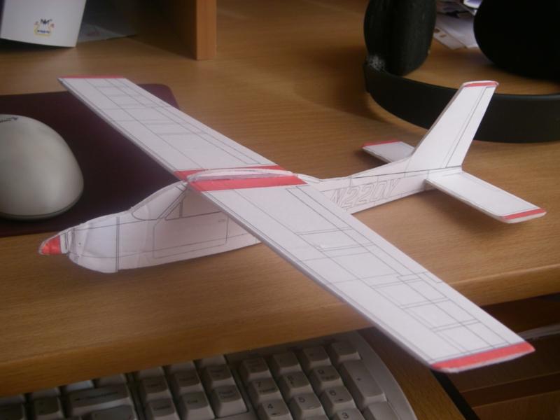 Простые модели самолетов своими руками