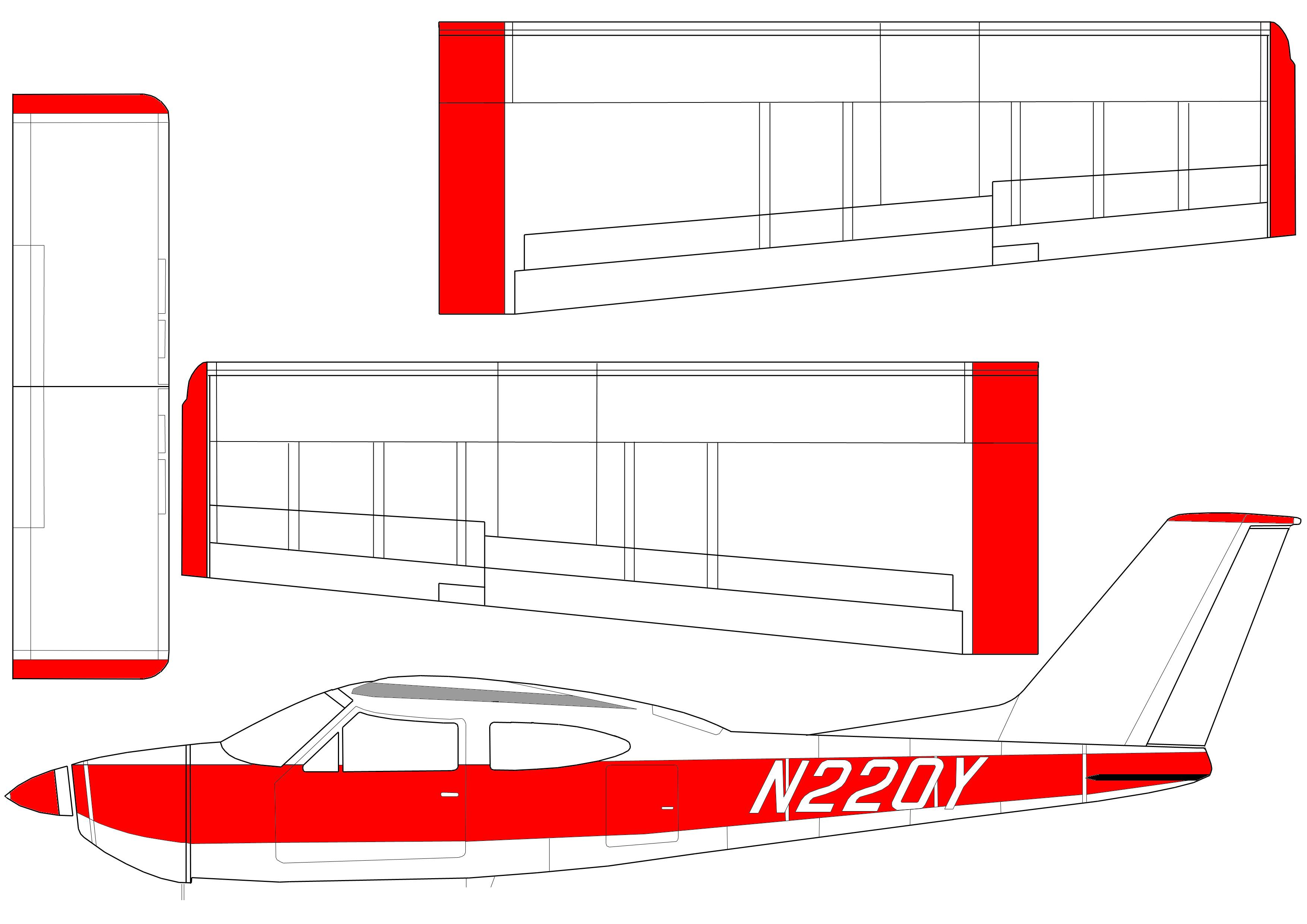 Как сделать самолетов из пенопласта чертежи